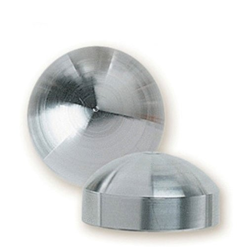 Stainless Steel Dome Cap (Feeney CR-3372-PKG SS Dome End Cap, Small (Pack of 4))