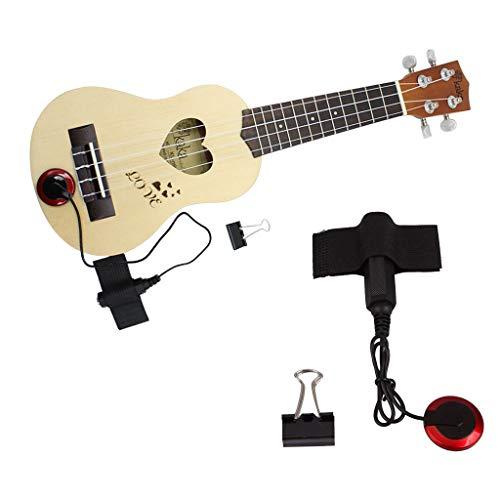 Elevin(TM)  Sound Pickup Microphone Amplifier Speaker for Acoustic Guitar Instrument