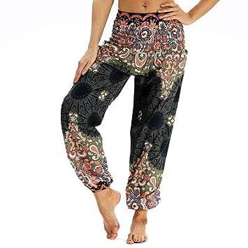 Pantalones Deportivos Yoga 7 Color Paisley 3D Daisies Floral ...