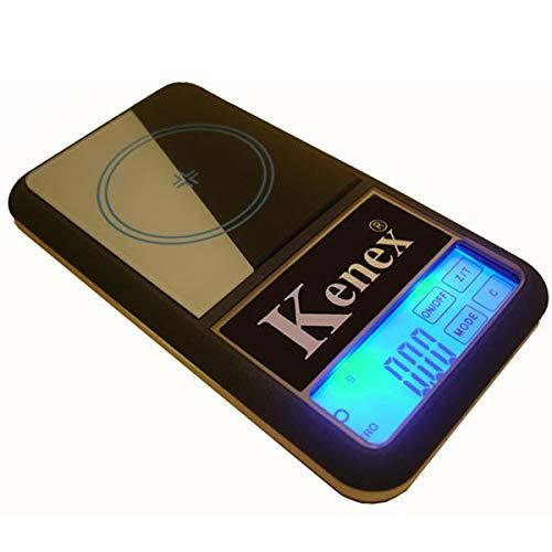 Báscula - Báscula de precisión KX-100 CF 0,01 junto - Kenex: Amazon.es: Jardín