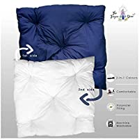 The Teepee Store 1 Double Sided Floor Cushion 40 x 40 inches (Multiple Colours Available) Big Soft Floor Pillow Seating Reading Meditation Cushion Kids Floor Mat for Teepee Tent