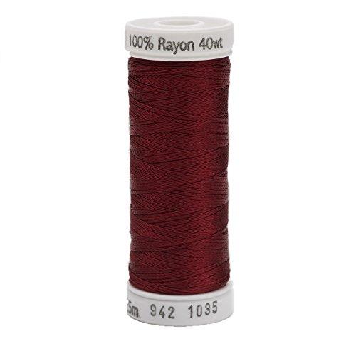 Burgundy Lizard (Sulky Rayon Thread for Sewing, 250-Yard, Dark Burgundy)