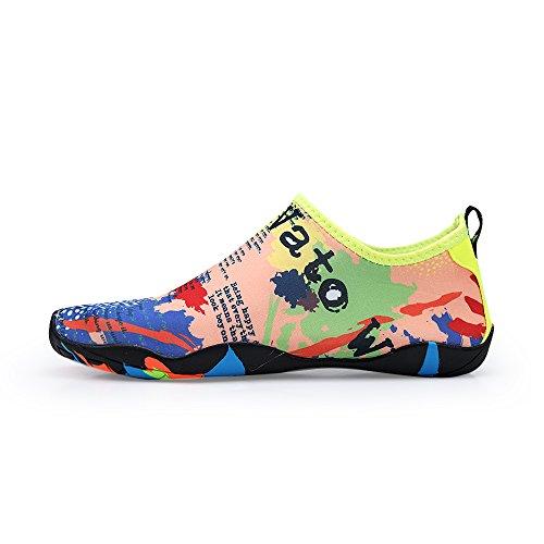 Calcetines Para Hombre Descalzo Lanbaosi Para Mujer Zapatillas De Natación Con Slip-on Livianas De Secado Rápido Color