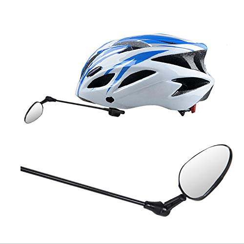 Yopoon Bike Helmet Mirror, Clear View 360° Adjustable Lightweight Bicycle Mirror for Adults & Kids, Compatible with All Helmets by Yopoon (Image #8)