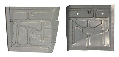 Motor City Sheet Metal - Works With REAR FLOOR PANS MUSTANG 1979-93 MERCURY CAPRI 1979-86 NEW (Mustang Floor Pan)