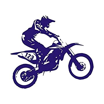 Personality Motorcycle Shielding Paint ScratchesVinyl Car Stickers and Decals car Styling car Decoration 20.3 Color Name: Laser, Style: 2Pcs 18cm
