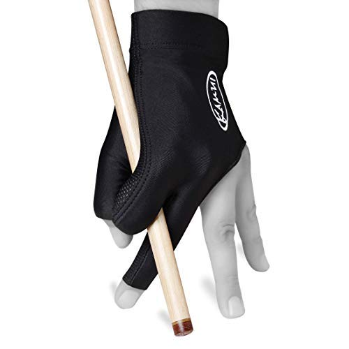 Kamui Billiard GLOVE QuickDry, for LEFT Hand - Black (S)