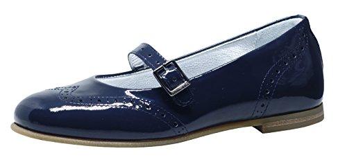 Zecchino dOro F11-4139 Riemchen Ballerinas Blau (nachtblau 420)