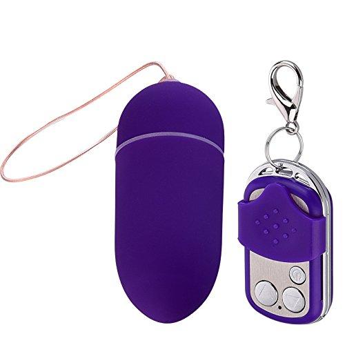 Dog® inalámbrico remoto 10-frecuencia vibratoria amor impermeable Huevo vibrador masturbación femenina coqueteando masajeador de Tracy