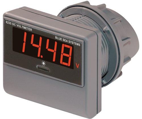 - Blue Sea Systems DC Digital Voltmeter (7-42V)