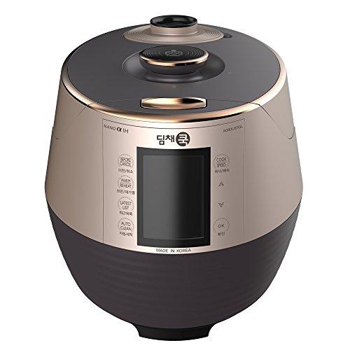 Dimchae-A060USTGL-Premium-Pressure-Rice-Cooker-Gold