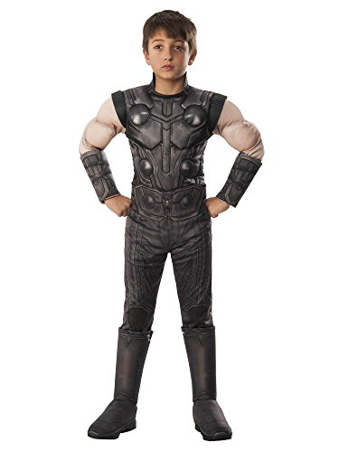Rubie's Marvel Avengers: Infinity War Child's Deluxe Thor Costume, Small]()