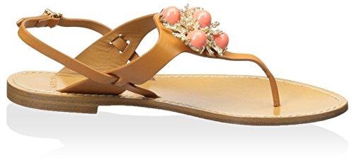 AERIN Womens AERIN Natural Vaccaro Womens Sandal q8nFxFP457