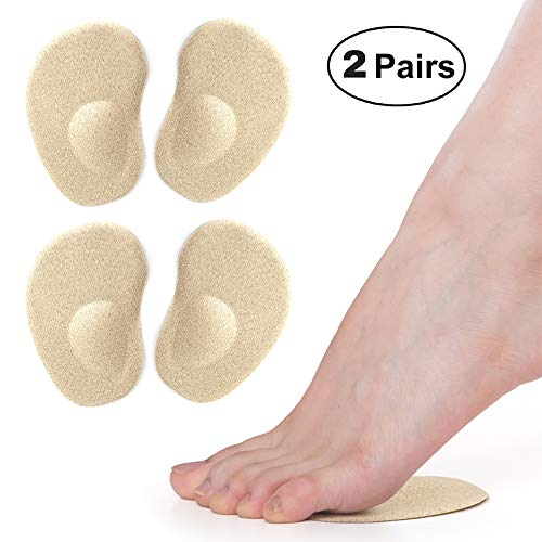 SQHT Ball of Foot Cushions, Gel Metatarsal Pads for Forefoot Support Pain Relief