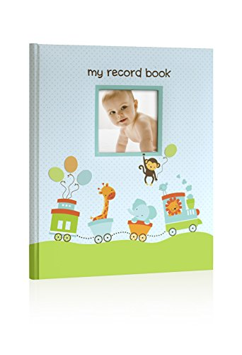 - Lil Peach Safari Train Baby Memory Book Photo Journal, Cherish Every Precious Moment of Your Babys First Years, Perfect Baby Shower Gift
