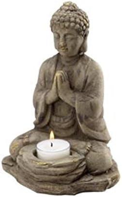 Biedermann Sons Stone Buddha Tealight Holder Home Kitchen