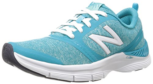 UPC 889116310360, New Balance Women's WX711 Heather Training Shoe, Blue/White, 6.5 B US