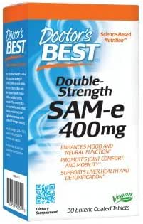 Vitamins & Supplements: Doctor's Best SAM-e