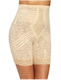 Rago Shapewear Women's Hi Waist Long Leg Shaper