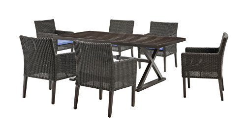 La Z Boy Outdoor 7 Piece Riverview Patio Furniture Dining