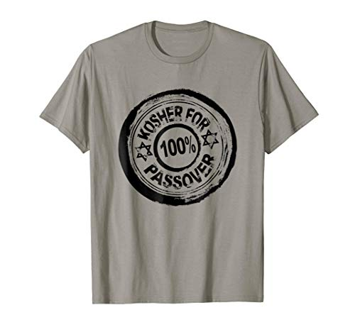 100% Kosher For Passover Funny Pesach Jewish Holiday T Shirt (Kosher For Passover Sweet And Sour Meatballs)