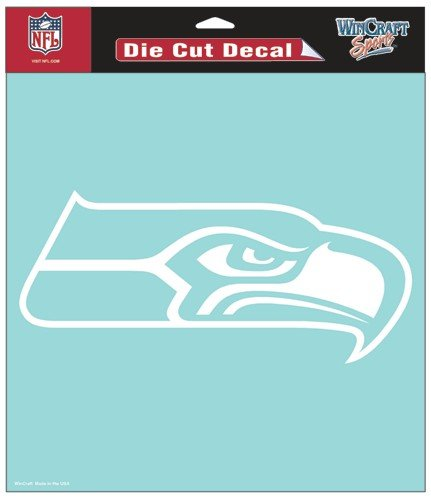 (WinCraft NFL Seattle Seahawks WCR25660061 Perfect Cut Decals, 8