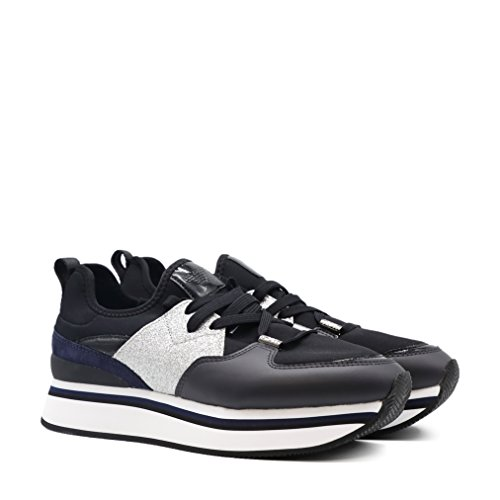 Sneakers Glitter Di E Applicazioni Con Alta Suola aq4wHra