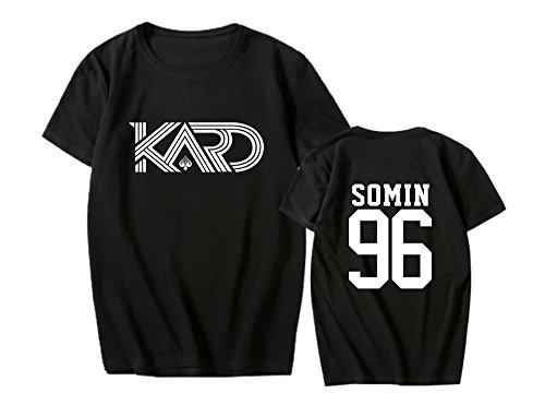 babyHealthy Kpop KARD New Album Hola Hola Same T-shirt Somin BM Jiwoo Shirt