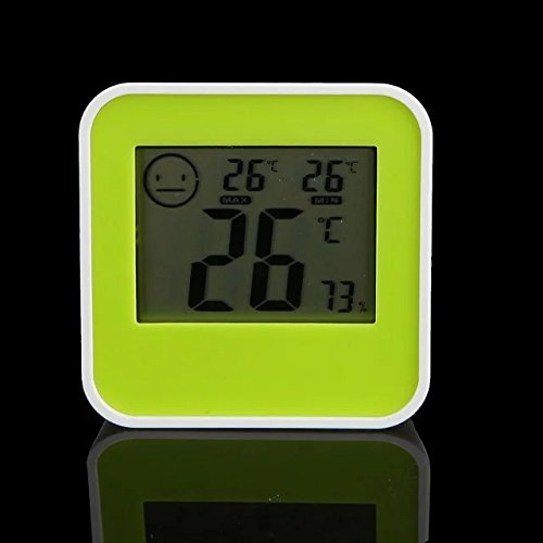 Price comparison product image Goliton Digital Mini Instant-Read Temperature (Fahrenheit) & Humidity Gauge Thermometer (Hygrometer) for Cars,  Incubators and Brooders