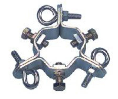 Guy Wire Clamp up to 1 1/2