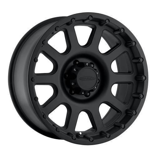 Pro Comp Alloys Series 32 Wheel with Flat Black Finish (17x9''/5x139.7mm)
