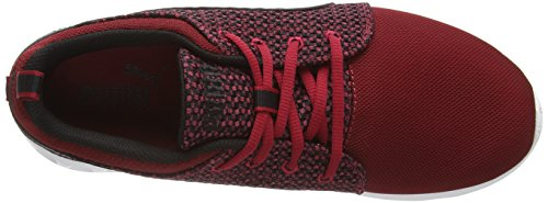 Puma Carson Runner Knit - Zapatillas para hombre Rosso (Rot (scooter-black 04))