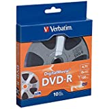 Verbatim DVD-R 4.7GB 8X - DigitalMovie Surface - 10pk Bulk Box