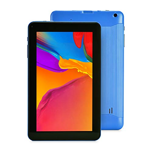 Haehne 9 Inch Tablet PC – Google Android 6.0, 1GB RAM 16GB ROM Quad Core, Dual Cameras, Bluetooth, WiFi, Blue