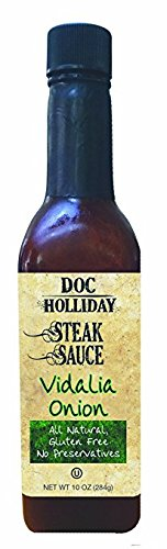 Vidalia Steak Sauce (Doc Holliday Vidalia Onion Steak Sauce 10 oz (Pack of 3))