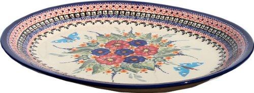Polish Pottery Large Serving Platter Zaklady Ceramiczne Boleslawiec 1007-149art by Polish Pottery Market