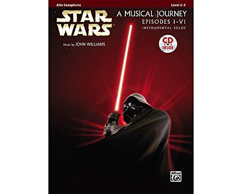 Alto Sax Solo Music Book (Alfred Star Wars Alto Sax Instrumental Solos (Movies I-VI) Book & CD)