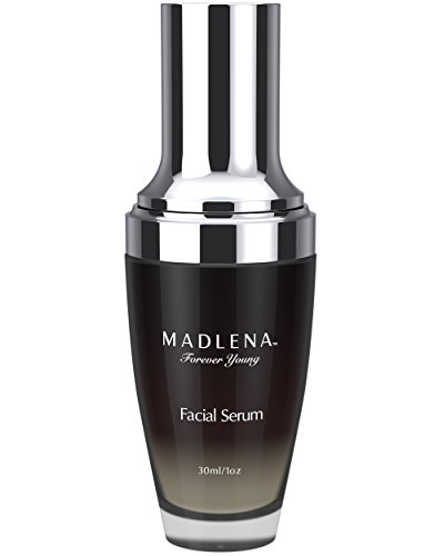 Madlena Advanced Anti-Aging Face & Neck Serum - Powerful Anti-Wrinkle Beauty Care - Fade Lines, Repair Blemishes, Restore Skin Tone and Boost Cell Regeneration