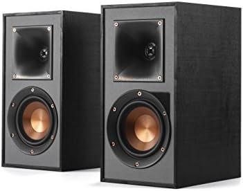 Klipsch R-41PM Powered Bookshelf Speaker,Black