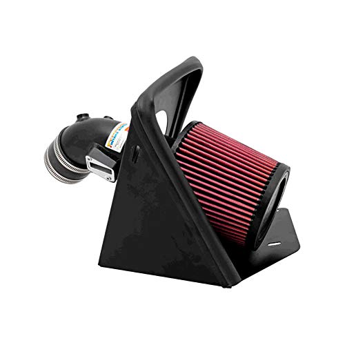 - K&N Performance Cold Air Intake Kit 69-3517TS with Lifetime Filter for Ford Focus 2.0L, Non-Turbo