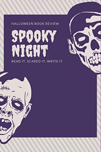 Halloween Book Review: Spooky Reading Log, Horror Story Fiction To Read, Guide Line Notebook for Horror Fiction Lover (Horror Book Review)
