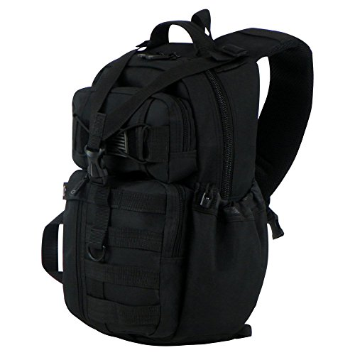 East West U.S.A RT525 Tactical Molle Assault Sling Shoulder Cross Body One Strap Backpack