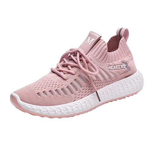 OrchidAmor 2019 Women's Big Girls Leisure Outdoors Casual Shoes Breathable Women's Big Girls Mesh Sneaker Purple