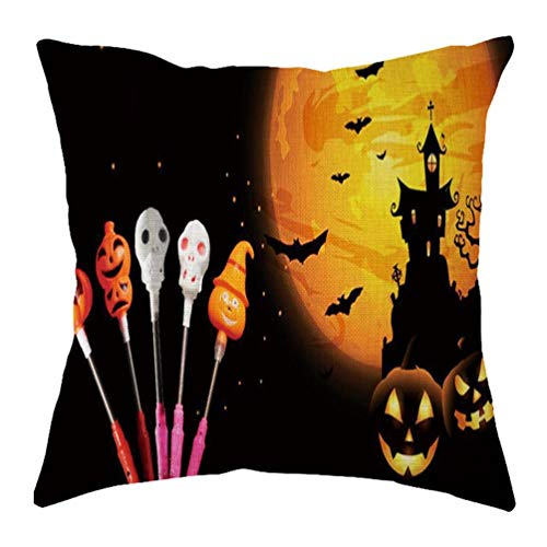 Yihaojia Happy Halloween Home Decor Office Sofa Geometric