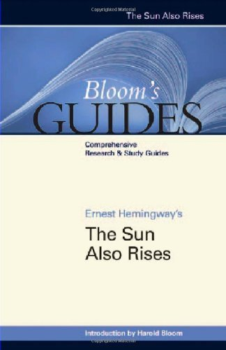 Ernest Hemingway's the Sun Also Rises (Bloom's Guides) [Library Binding] [2007] (Author) Harold Bloom