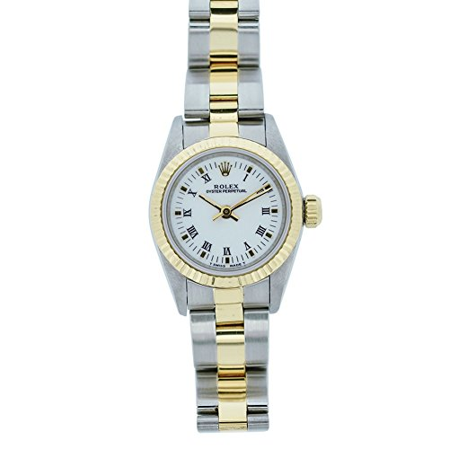 Dial Oyster - Rolex Oyster Perpetual Automatic-self-Wind Female Watch 67193 (Certified Pre-Owned)