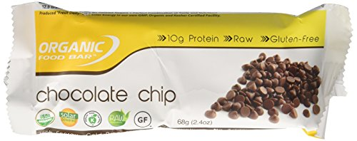Organic Food Bar, Belgium Chocolate Chip, 12 Count