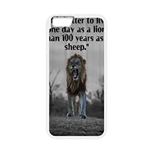 Lion DIY Case Cover for iPhone6 4.7