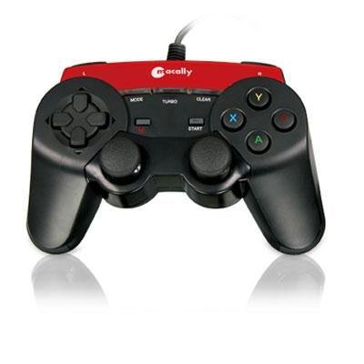Macally Ishockx Cable Connectivity Gaming Pad 12 Action Button 2 Analog Control D-Pad