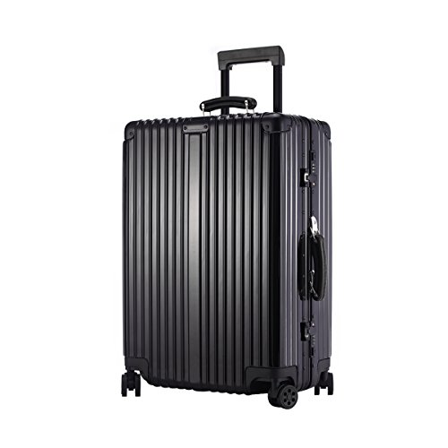 URSTAR Aluminium Frame Luggage TSA Approved Spinner Wheels (29'', Black) by URSTAR